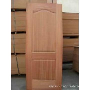 HDF двери/Doorskin белый с текстурой древесины (двери ХДФ)
