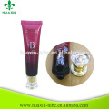China Supplier 30ml BB Cream Plastic Cosmetic Tube With Acrylic Cap