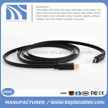 5FT High Speed Flat HDMI Cable 1.4 With Ethernet 1080p And 3D Support
