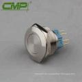 Interruptor de botón superior levantado CMP 30 mm