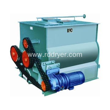 Factory Supply Double Paddle Industrial Use Grains Powered Mixer