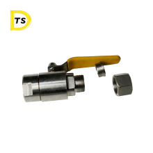 good sale 3000PSI high pressure stainless steel Quick-twist air snap ball valve