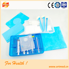 Disposable Spinal-Epidural anesthesia tray for hospital
