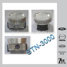 Piezas de motor de automóvil pistón pistón de motor diesel para VW STN-3000