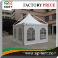 5mx5m neu gestaltete Luxus-Gartenlinie Pavillon