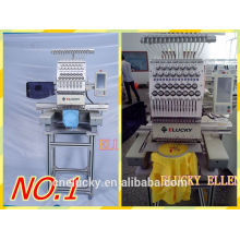 Cheap beautiful one head commercial /testing embroidery machine