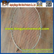 Cesta de alambre de barbacoa de malla / filtros en la fábrica de Anping