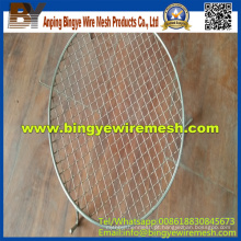 Basket BBQ Wire Mesh / Filtros em Anping Factory