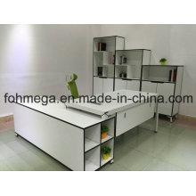 Kompletter Satz White Executive Desk für Manager (FOH-N1818-2)