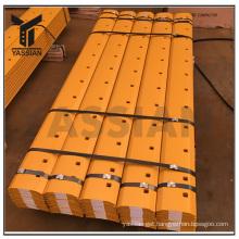 9J3657 Curved Grader Blades 13 Holes High Treated Boron Cutting Edge