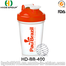 400ml Classic Mini Blender Shaker Bottle (HD-BB-400)