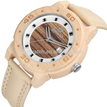 New style Wood leather watch wood expensive wood watches