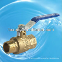 600 WOG Full Port Brass or Low-Lead NPT Brass Ball Valve (female thread*male thread)