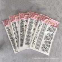Promo Party Fashion Lace Body Tattoo Sticker,Body Decoration Temporary Tatoo Stickers