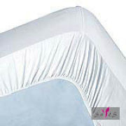 Standard White 50% Cotton And 50% Polyester Hospital Bed Linens