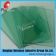 Verre flotté teinté vert de 4mm F / verre flotté avec ce