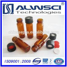 Fabrication d'un flacon d'échantillonneur d'échantillons ambrés 4ML pour analyse HPLC