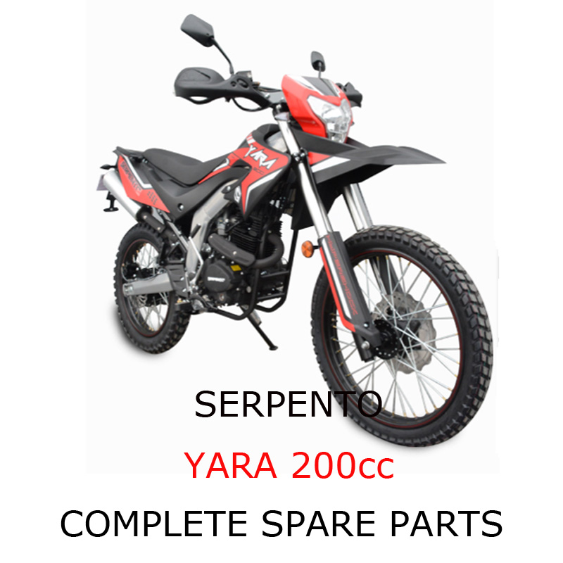 Serpento Dirt Bike YARA 200cc Part