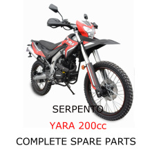 Serpento Dirt Bike YARA 200cc Ricambi