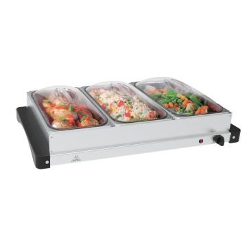 Buffet Server met opwarmplateau