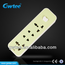 Prise en charge de 4 gangs multi-socket