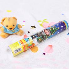 Высокое качество фейерверк Новогоднее украшение конфетти праздничную вечеринку Поппер с Снежинка