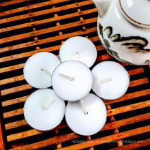 12g geruchsneutrale weiße Teelichtkerze 4 Stunden