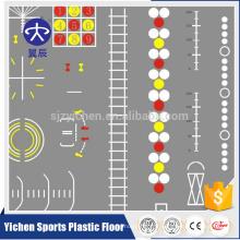 Tapis de gymnastique fonctionnel tapis de gymnastique imperméable à l'eau mobile Tapis de sport PVC