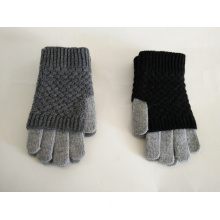 Knitted Color Matching Warm Gloves