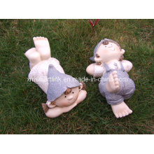 Polyresin Sculpture Garden Doll Crafts