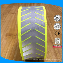 2'' width customized carved reflective heat transfer strip film