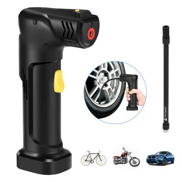 Pompe de voiture sans fil avec batterie Li-ion rechargeable
