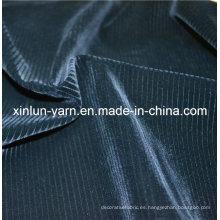 Decoración de pulverización de poliéster 100% Flocado tejido de punto para los diseños de conjunto de sofá