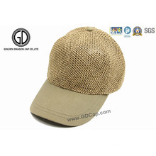 Fashion OEM Straw Mesh Baseball Cap