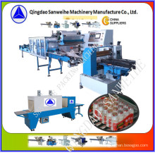 (wider-film) Collective Bottles Secondary Shrink Packing Machine