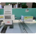 Computerized two head regular speed flat Embroidery machine