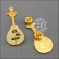 Insigne de bonbons en forme de coeur, épinglette personnalisée (GZHY-LP-045)