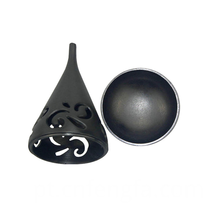 Low price mini zinc alloy incense burner