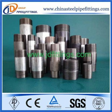 Carbon Steel BSPT Thread Nipple Pipe Fitting