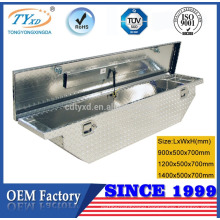 low profile metal tool box for truck