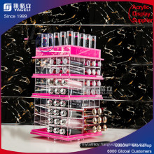 Pin Color Acrylic Lipstick Display