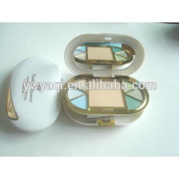 embalagem de caso pó compacto pó compacto pó conjunto