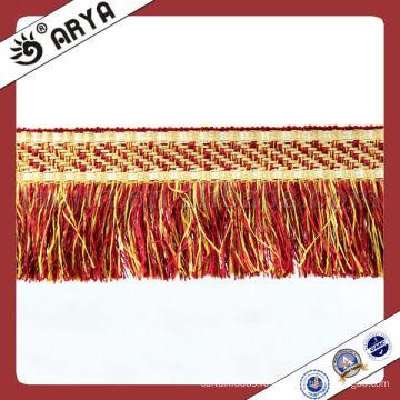 Красочные обрезки для бюстгальтеров Tassel Fringes для штор и дивана