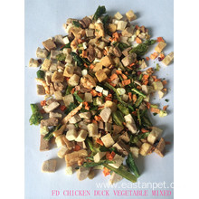 China for Freeze-dried Pet Snacks Freeze Dried Mix Fruit Vegetables Dog Food supply to Niue Exporter