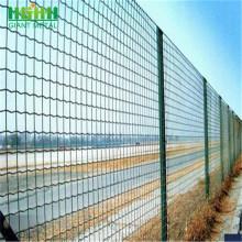 Black Steel Enchanted Garden Euro Fence Panel
