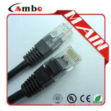 Hecho en China cable de remiendo de 3m CAT6 de la alta calidad 3m cable de remiendo del CAT6 de 3m CAT6 cable de remiendo 3m