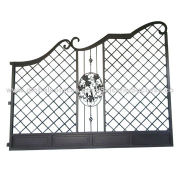 Wrought Iron Gates, Square Steel Stamping Hole, Strong