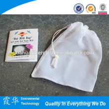 Nylon mesh candy bag with drawstrings