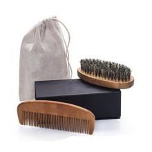 Cepillo de bambú del peine de bambú de la etiqueta privada de Amazon