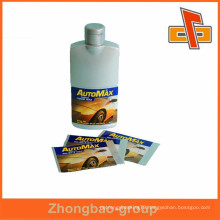 Gravure printing and accept custom order custom soft plastic bottle labels for automax bottles china wholesale